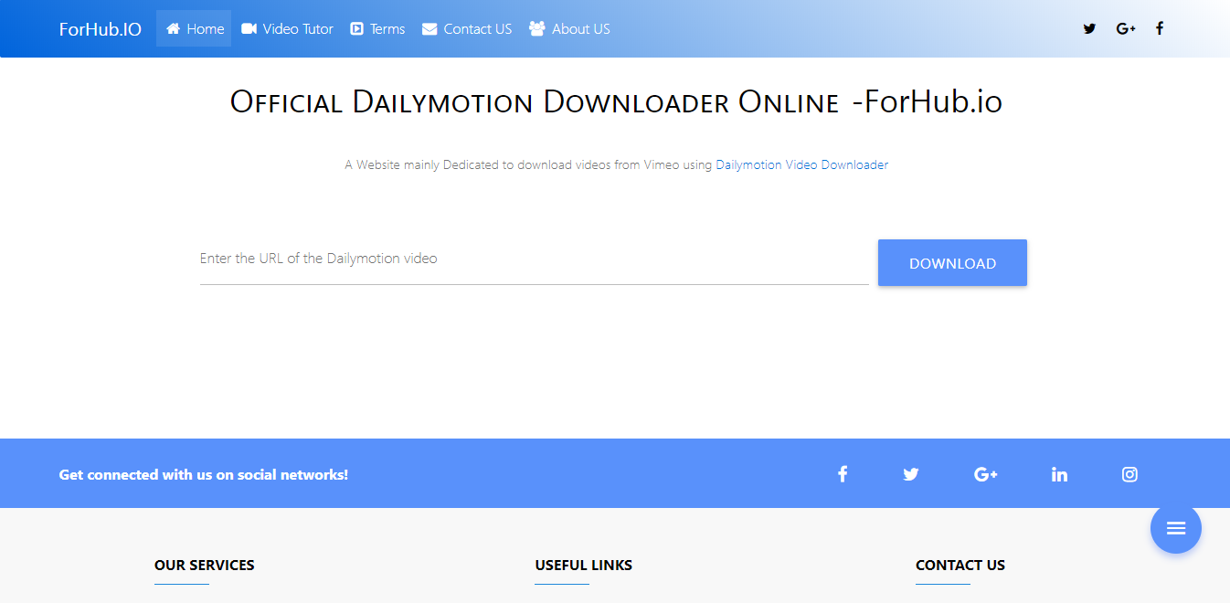 46c0131dcd5af Dailymotion Downloader Online- Dailymotion To Mp4